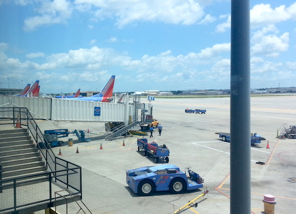 Hobby Airport Tarmac View